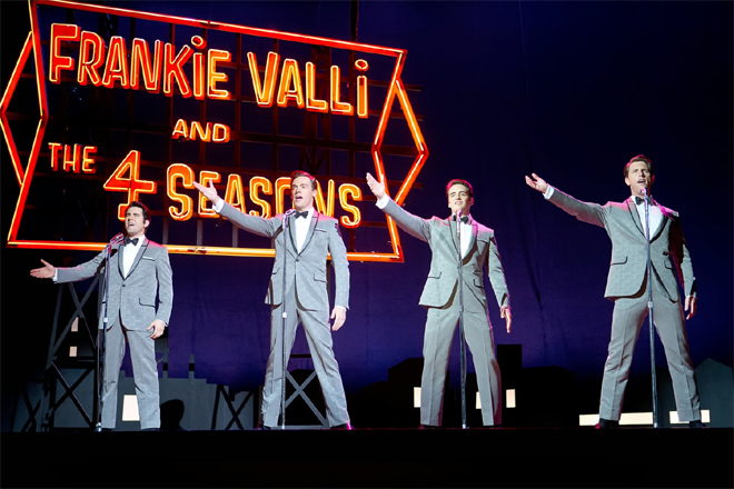 Jersey Boys, Four Seasons story